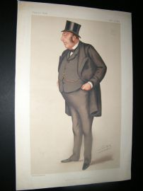 Vanity Fair Print 1878 John Holker, Legal